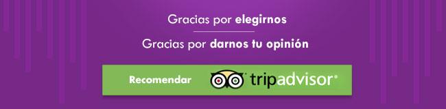 Recomendanos en Trip Advisor